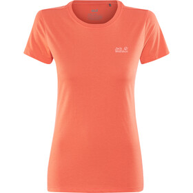 Jack Wolfskin Essential T-Shirt Damen hot coral